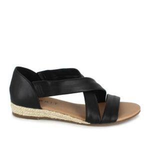 Esprit Cassie Black Sandal